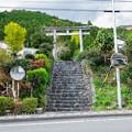 井川神社 参道入口