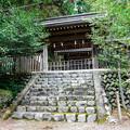 井川神社 本殿前