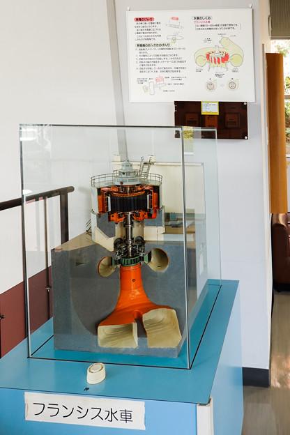 フランシス水車の模型