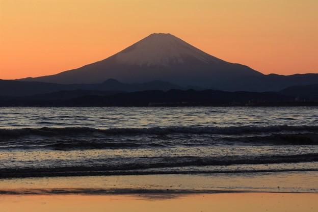 Photos: 富士山夕景