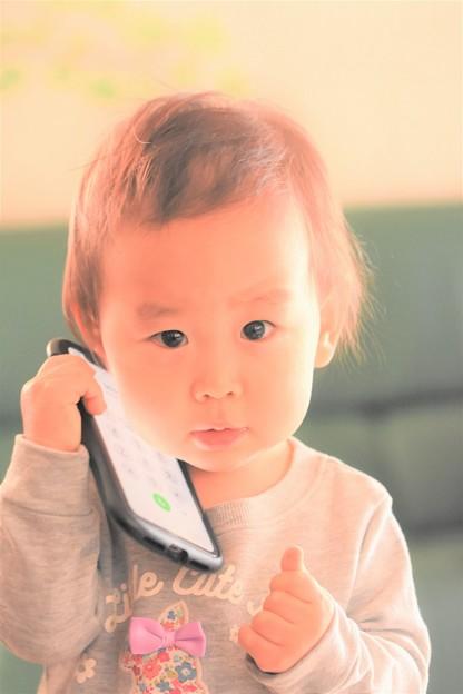 Photos: 孫娘とお正月