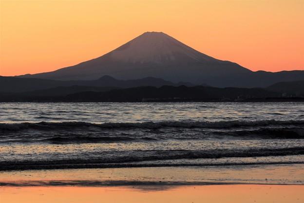 Photos: 夕焼け富士山