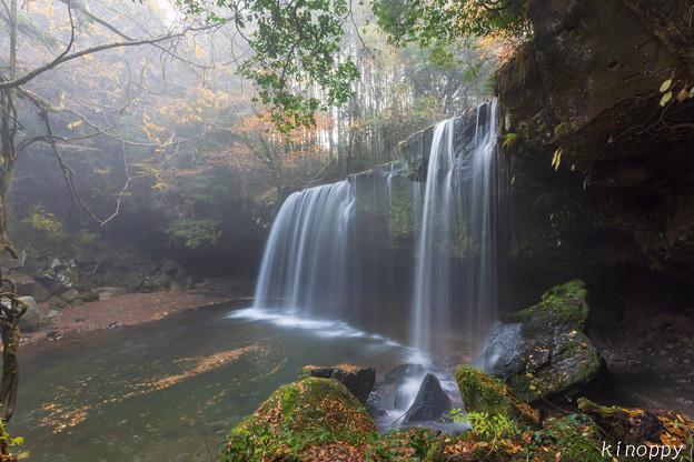 鍋ケ滝 秋景