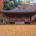 富貴寺 秋景