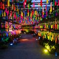 Photos: 田川市三井寺 風鈴 ライトアップ