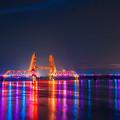 昇開橋 夕景 4