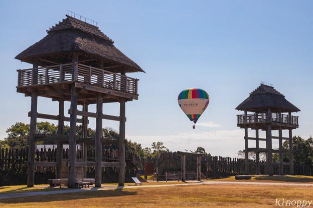 Photos: 吉野ヶ里歴史公園 バルーン