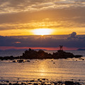 奈多海岸 朝景色 3