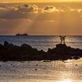 奈多海岸 朝景色 4