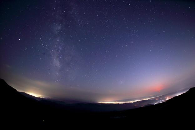 Photos: 月の入りに銀河輝きを増す