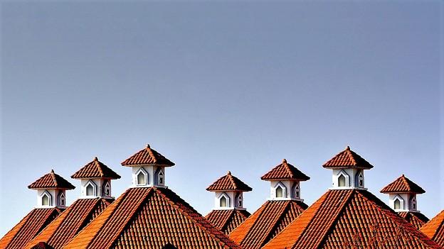 屋根の風景
