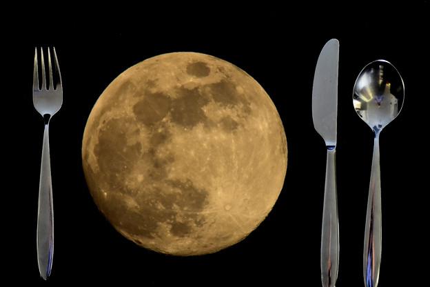 私の月食!