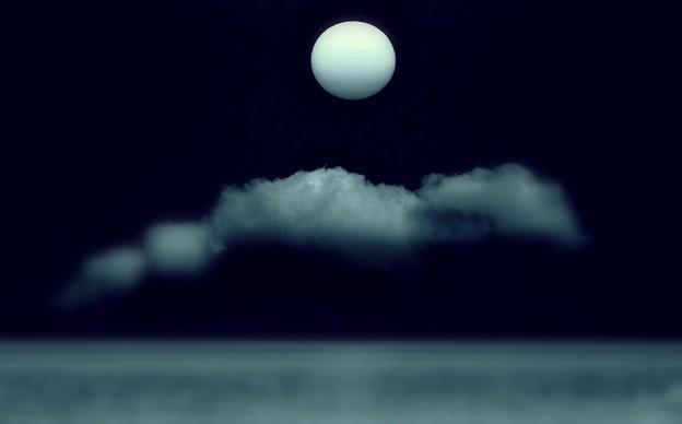 太陽・雲・海