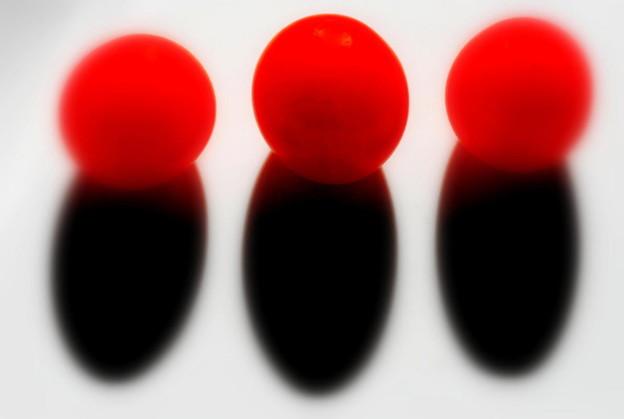3つのトマト