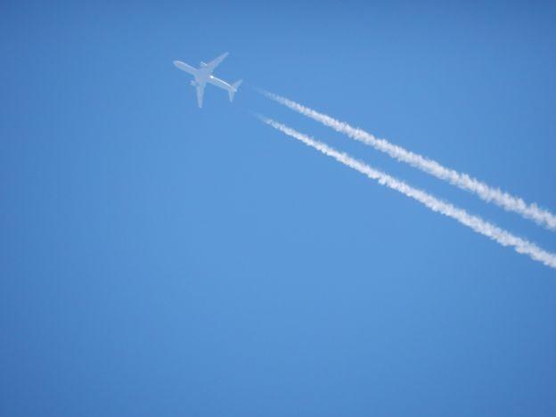 写真: いい空だ