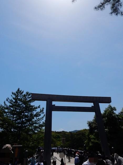 写真: 伊勢神宮内宮