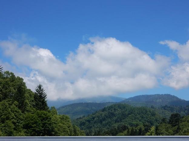 写真: 乗鞍は雲の中