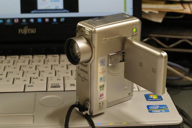 愛用の超小型ビデオカメラ