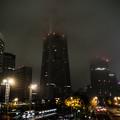 写真: 湿度100%の夜