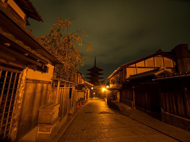 写真: 八坂の塔