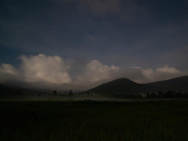 尾瀬ヶ原の夜