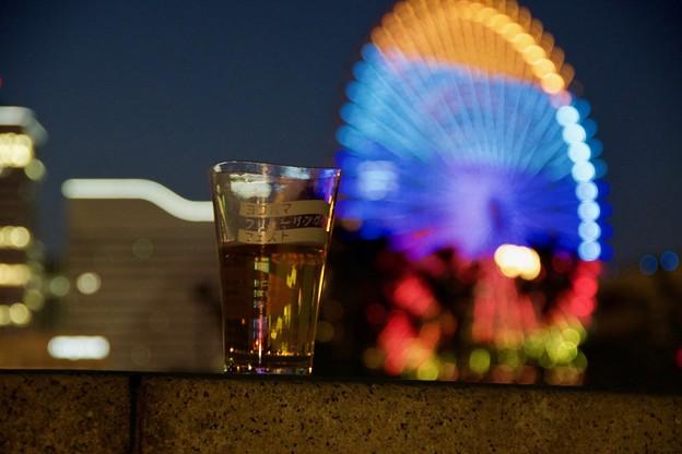 ビールと観覧車