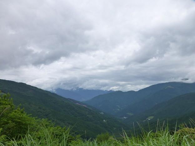 京柱峠の展望1