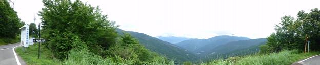 京柱峠の展望