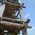 大型掘立柱建物(復元)