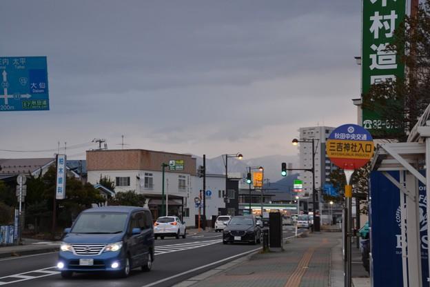 三吉神社前バス停