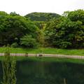 古池と矢筈岳