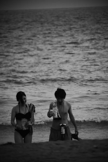 Photos: 二人の海