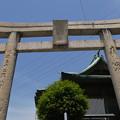 めかり神社の鳥居