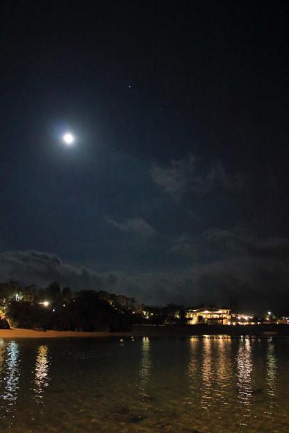 万座ビーチ(2018/05/01 夜)