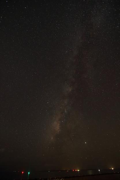 Photos: 2019年8月2日 1時16分頃 石垣島 グランヴィリオリゾート屋上 スターダストテラスから