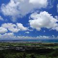 Photos: エメラルドの海を見る展望台(2019/07/30 石垣島)
