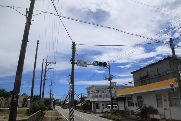 日本最南端の信号(2019/07/31 西表島)