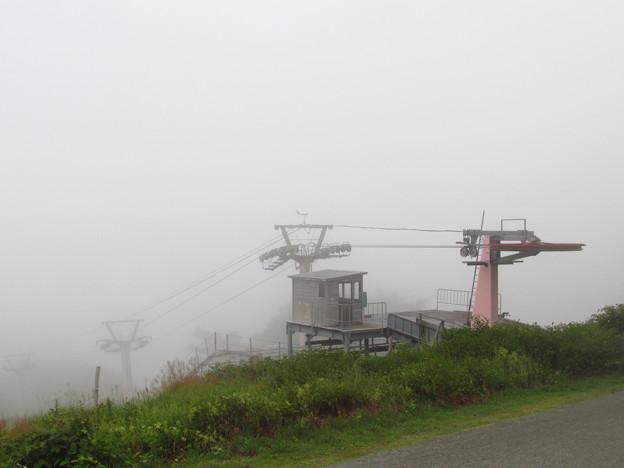 菅平は雲の中