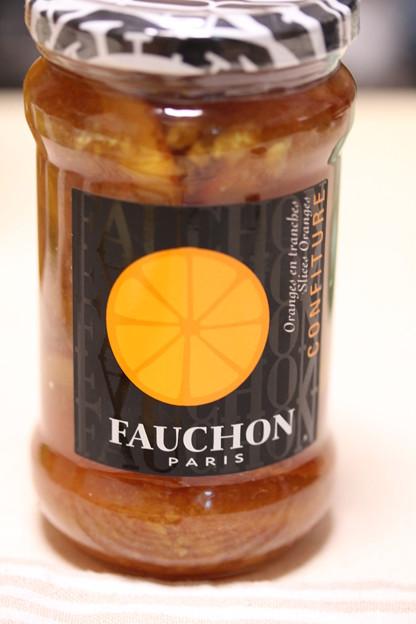 FAUCHON オレンジ マーマレード(スライス)瓶