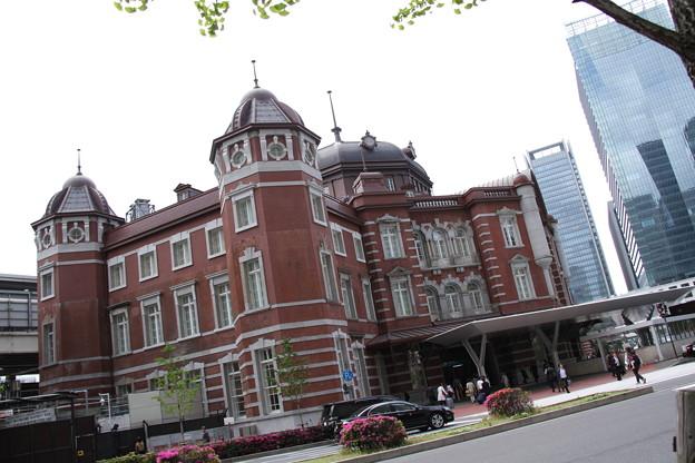 東京駅丸の内北口側 5月1日