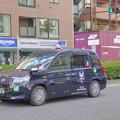 写真: 2年目の「次世代型タクシー」