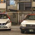 Photos: タクシー車種での「先輩と後輩」