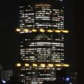 窓越しの夜景…六本木ヒルズ