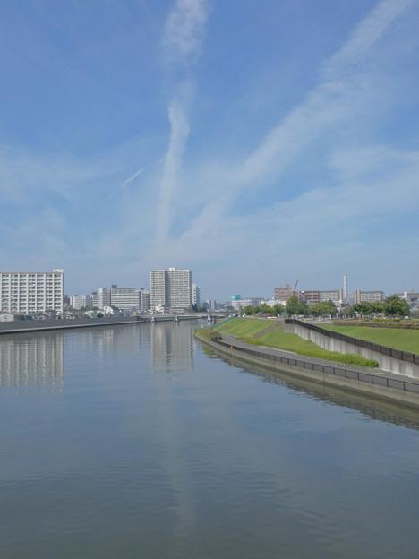 Photos: 「斜V字体」の雲