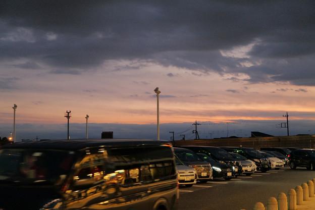Photos: 海老名SAからの夕景