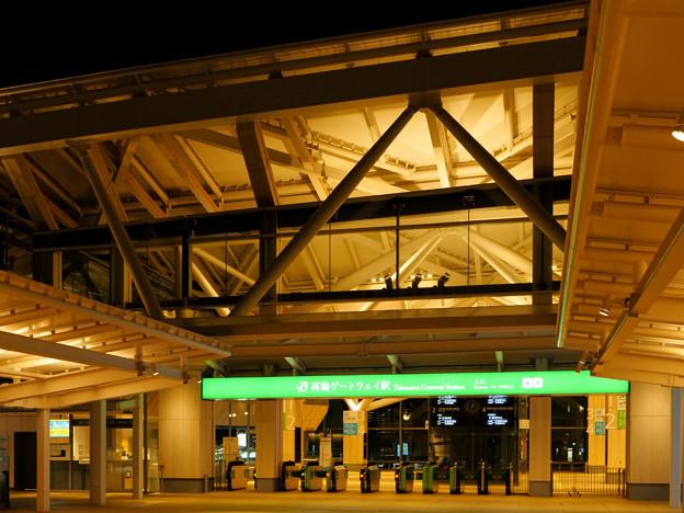 Photos: 真夜中の高輪ゲートウェイ駅(1)