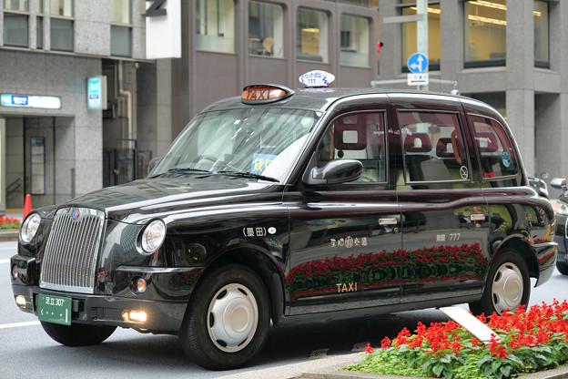 初夏のロンドンタクシー