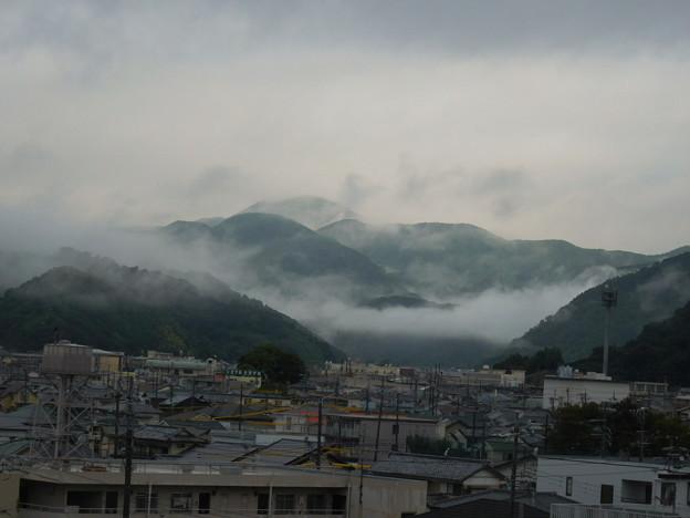 今日も雨模様