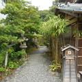 Photos: お庭へ