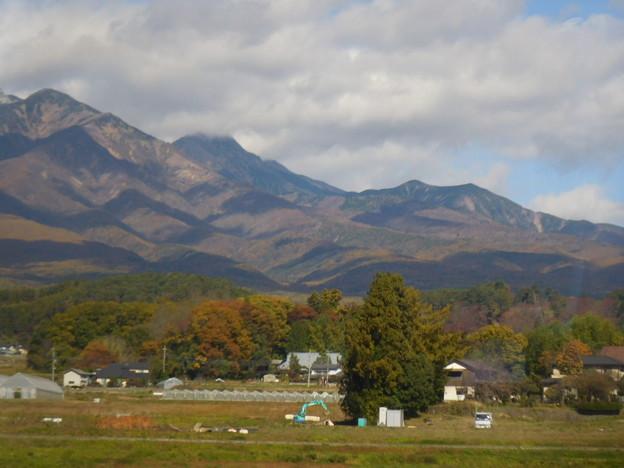 連なる山々